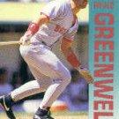 1992 Fleer 39 Mike Greenwell