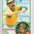1983 Topps #365 Dave Lopes - Oakland Athletics (Baseball Cards)
