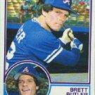 1983 Topps #364 Brett Butler - Atlanta Braves (Baseball Cards)