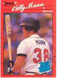 1990 Donruss 46 Kelly Mann DP RC