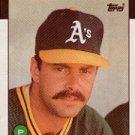1986 Topps 766 Rick Langford