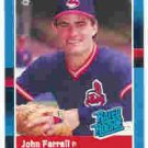 1988 Donruss 42 John Farrell RR RC