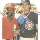 1988 Fleer 628 Ozzie Smith/Ryne Sandberg