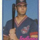 1989 Topps 528 Luis Medina/(Lower left front/has white triangle)