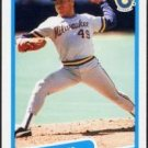 1990 Fleer 326 Teddy Higuera