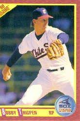 1990 Score 335 Bobby Thigpen