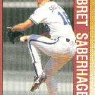 1990 Topps 393 Bret Saberhagen AS