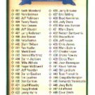 1990 Upper Deck 500 Checklist 401-500