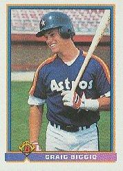 1991 Bowman 556 Craig Biggio
