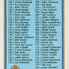 1991 Bowman 700 Checklist 123-244
