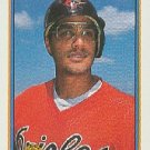 1991 Bowman 88 Leo Gomez UER/Baltimore is spelled Balitmore