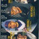 1996 Topps #427 N.Perez/E.Wilson