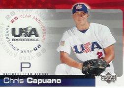 2004 USA Baseball 25th Anniversary 36 Chris Capuano