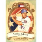 2009 Topps Allen and Ginter National Pride #NP63 Carlos Beltran