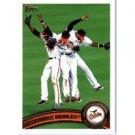 2011 Topps 152 Baltimore Orioles TC