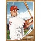 2011 Topps Heritage #302 Ramon Hernandez