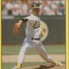 1991 Fleer 28 Curt Young