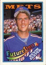 1988 Topps 8 Kevin Elster