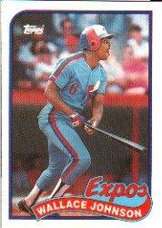 1989 Topps 138 Wallace Johnson