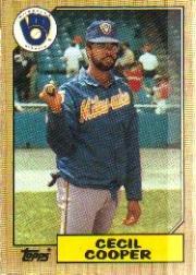 1987 Topps 10 Cecil Cooper