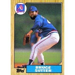 1987 Topps 435 Bruce Sutter