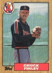1987 Topps 446 Chuck Finley