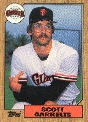 1987 Topps 475 Scott Garrelts