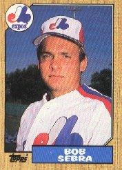 1987 Topps 479 Bob Sebra