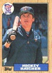 1987 Topps 504 Mickey Hatcher