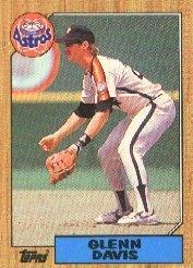 1987 Topps 560 Glenn Davis