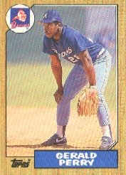 1987 Topps 639 Gerald Perry