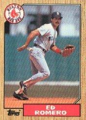 1987 Topps 675 Ed Romero