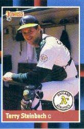 1988 Donruss 158 Terry Steinbach
