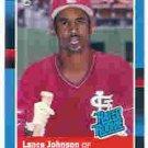 1988 Donruss 31 Lance Johnson RR RC