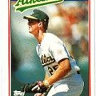 1988 Topps UK Minis #47 Mark McGwire