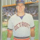 1989 Fleer 132A Mike Heath ERR/(Tom Brookens back)