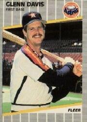 1989 Fleer 355 Glenn Davis