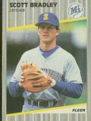 1989 Fleer 540 Scott Bradley