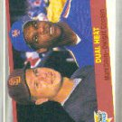 1989 Fleer 635 Mark Davis/Dwight Gooden