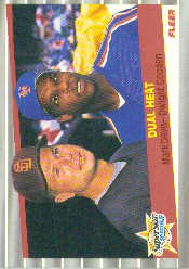 1989 Fleer 635 Mark Davis/Dwight Gooden