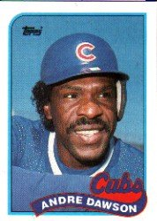 1989 Topps 10 Andre Dawson
