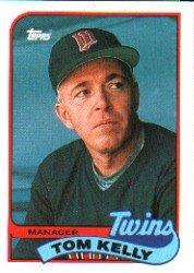 1989 Topps 14 Tom Kelly MG