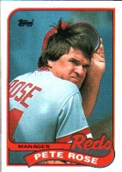 1989 Topps 505 Pete Rose MG