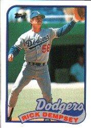 1989 Topps 606 Rick Dempsey
