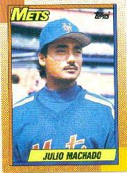 1990 Topps #684 Julio Machado RC