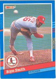 1991 Donruss 113 Bryn Smith