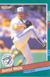1991 Donruss 473 David Wells