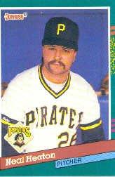 1991 Donruss 475 Neal Heaton