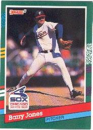 1991 Donruss 534 Barry Jones