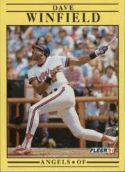 1991 Fleer 329 Dave Winfield